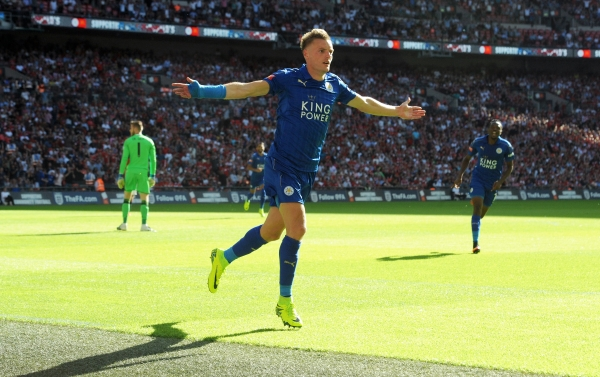 Vardy sigue siendo un referente y guía en el King Power Stadium. (Foto: Prensa Leicester)