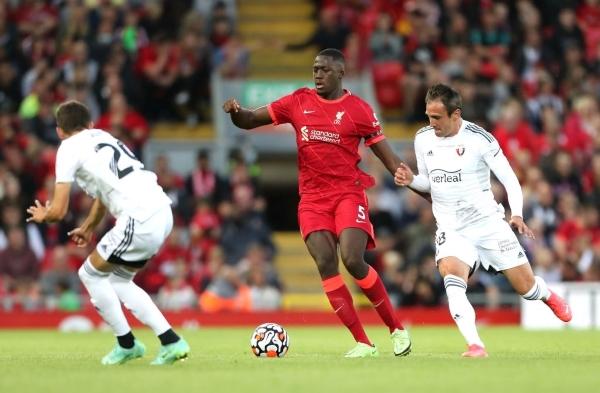 Konaté, el nuevo candado del Liverpool de Klopp. (Foto: AFP)