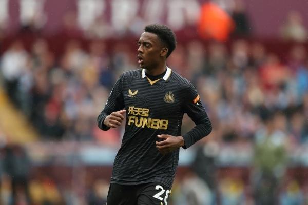 Willock en procura de los goles que el Newcastle le exigirá en medio de su delicada situación. (Foto: AFP)