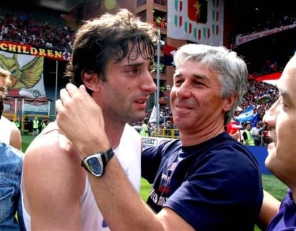 ¿Extrañará demasiado el Genoa de Gasperini a Diego Milito? (Foto: AP)