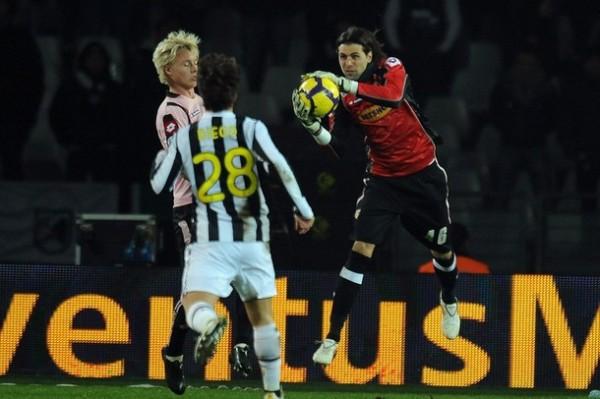 Sirigu, un golero para mirar con atención que dio seguridad al Palermo (Foto: AFP)