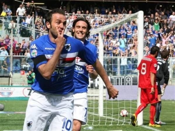 De la mano del buen momento de hombres como Pazzini, la Sampdoria fue la revelación del torneo y logró pasaje para Europa (Foto: AP)