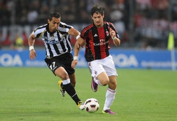 Luego de siete años, AC Milan se alzó con el scudetto. Alexander Pato fue una de sus figuras (Foto: AFP)