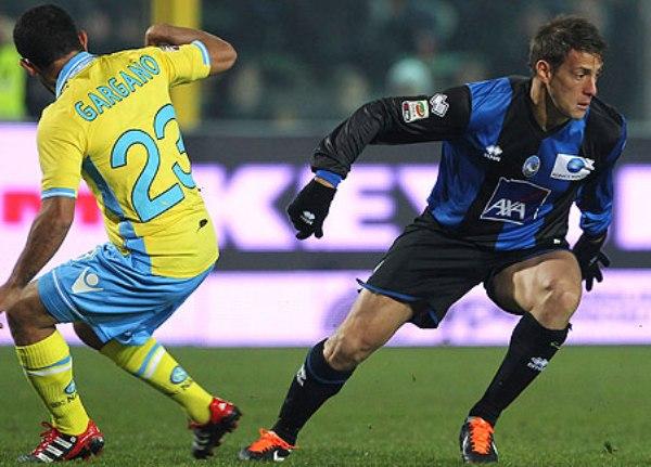 TABLAS. Atalanta y Nápoles igualaron 1-1 y se repartieron los puntos. (Foto: AP)