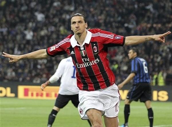 La vieja historia del Milan y los goleadores suecos encontró en Zlatan Ibrahimovic un nuevo episodio (Foto: AP)