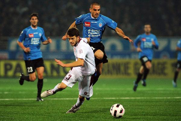 Novara regresa a la Serie A tras 55 años de ausencia. El equipo ha mantenido una tendencia emergente desde hace un par de años y ahora buscará mantener la categoría (Foto: zimbio.com).