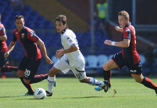 COMPARTIERON PUNTOS. Genoa y Atalanta igualaron 2-2 en un entretenido cotejo. (Foto: AP )
