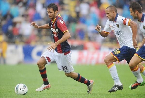 ONDA CERO. Bologna sumó su segunda derrota en igual número de partidos tras perder 0-2 ante Lecce. (Foto: AP )