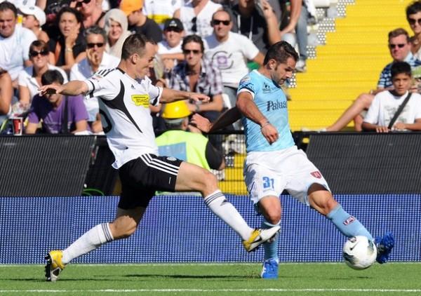 NO FESTEJÓ. El Chievo de Rinaldo Cruzado no pasó del empate 0-0 en su visita al Cesena. (Foto: AP )