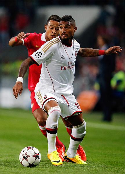 Kevin Prince-Boateng es una de las varias opciones ofensivas con las que cuenta el Milan para recuperar el puesto del mejor equipo en el fútbol italiano (Foto: AFP)