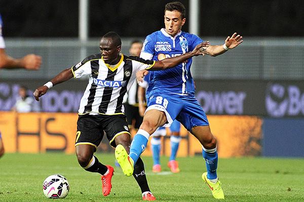 Equipos como Udinese y Empoli pelean en la mitad de tabla. (Foto: AFP)