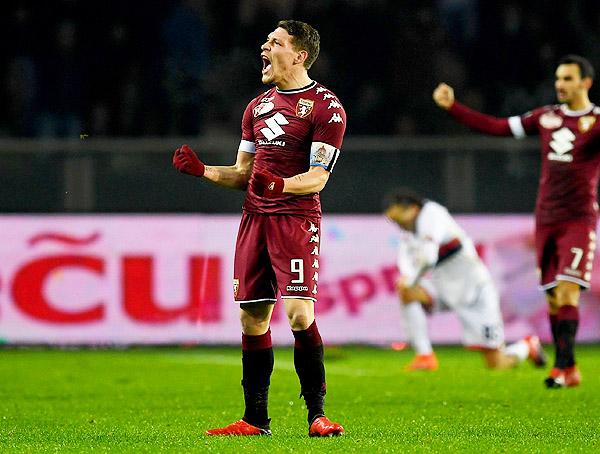 Andrea Belotti demostró su capacidad en el Torino. (Foto: AFP)