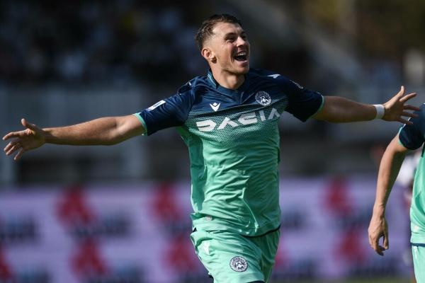 Samardzic, interesante valor con potencial para la medular del Udinese. (Foto: AFP)