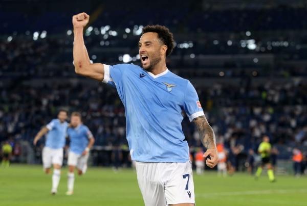 Felipe Anderson y una revancha en la capital italiana con la Lazio. (Foto: AFP)
