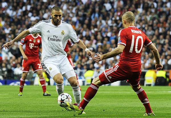 Real Madrid y Bayern tendrán un nuevo enfrentamiento en Champions. El último fue en la temporada 2013/14 (Foto: AFP)