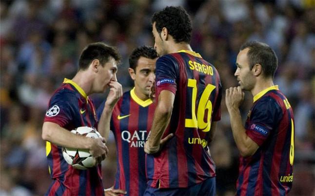 Con Xavi, Iniesta y Busquets, Messi tuvo su mejor forma de cara al gol. (Foto: EFE)
