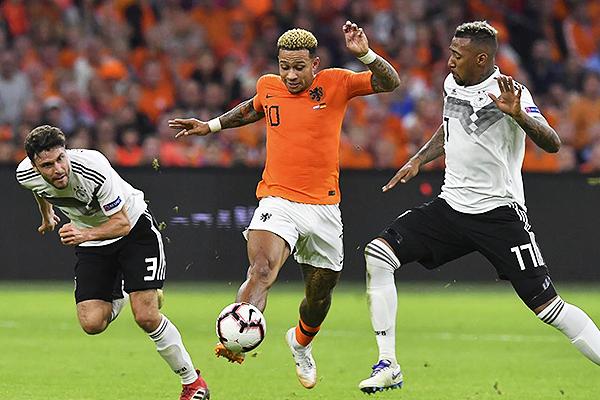 Alemania sucumbió ante Holanda en la fase de grupos. (Foto: AFP)