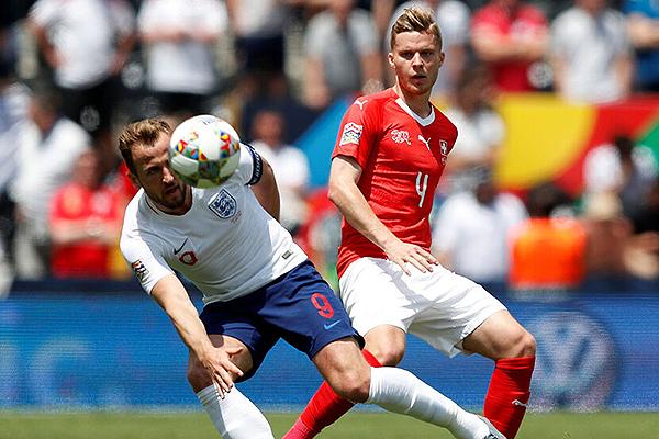 Inglaterra derrotó a Suiza por el tercer lugar. (Foto: AFP)