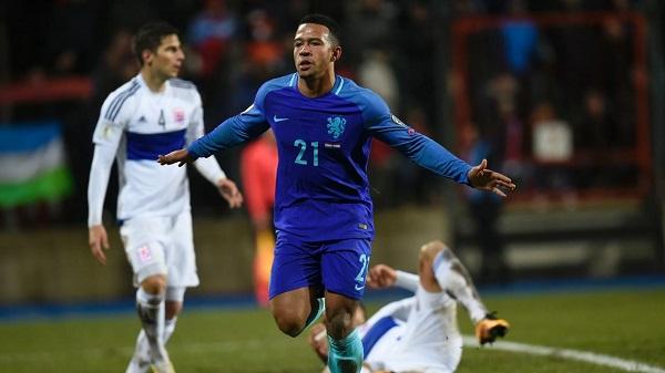 Depay anotó el gol de la victoria para Holanda en Luxemburgo por las Eliminatorias Rusia 2018. (Foto: AFP)