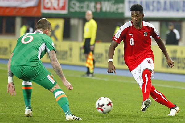 Irlanda dio el golpe en el Grupo D y derrotó 0-1 a Austria. (Foto: AFP)
