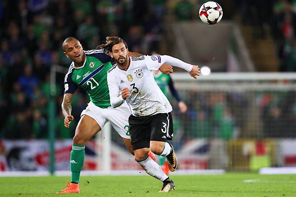 Aunque Irlanda del Norte lo puso en algunos apuros, Alemania fue el superior del grupo. (Foto: AFP)