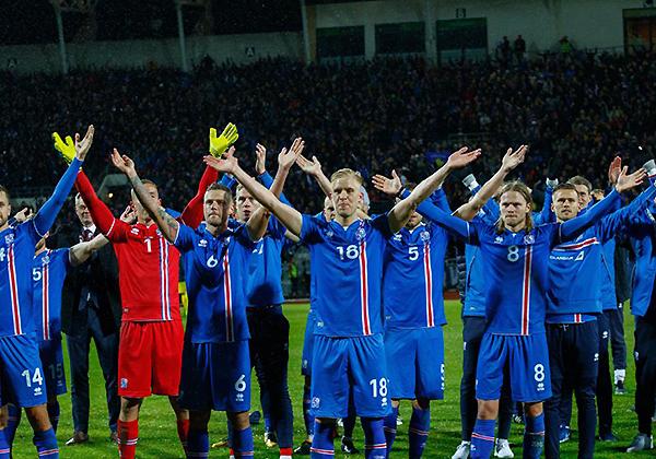 Islandia hace historia: dirá presente por primera vez en un Mundial. (Foto: Reuters)