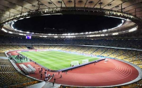 Estadio Olímpico de Kiev, escenario que albergará la final del 1 de julio y a la que 16 selecciones aspiran llegar (Foto: goal.com)