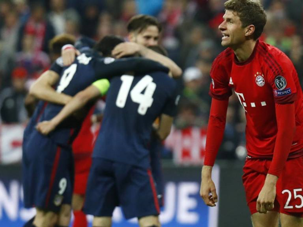 Müller falló un penal en la clasificación de Atlético a la final de la Champions 2015/2016. (Foto: Reuters)