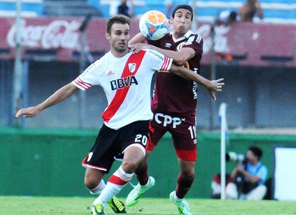 Germán Alemanno fue uno de los altos valores que va mostrando Universitario en este nuevo año (Foto: Prensa Club Atlético River Plate)