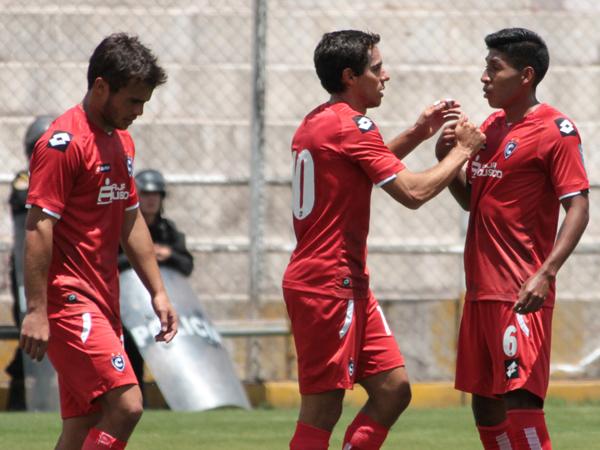Carlos Orejuela estuvo imparable y anotó tres goles (Foto: Vanessa Álvarez Sancho)
