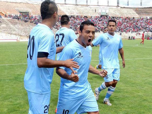 El 'Chapu' Ramúa destacó en la oncena de Real Garcilaso anotando uno de los goles (Foto: prensa Real Garcilaso)