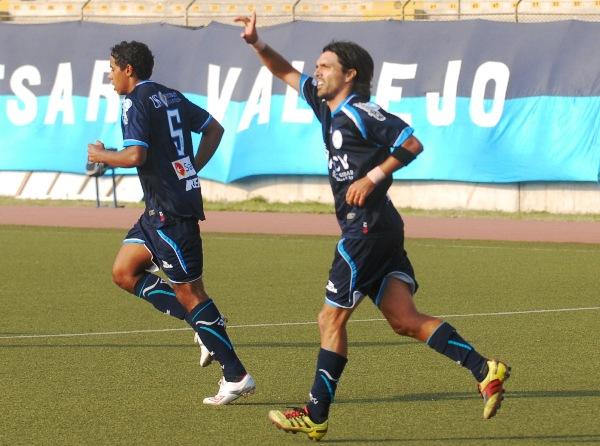 LA FIGURA. Cazulo fue importante en Trujillo y le permitió a Vallejo imponerse ante Sport Huancayo. (Foto: diario La Industria de Trujillo)