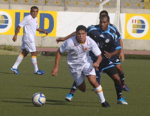 Roque ha jugado en julio el Torneo Intermedio contra Vallejo. (Foto: diario La Industria de Trujillo)