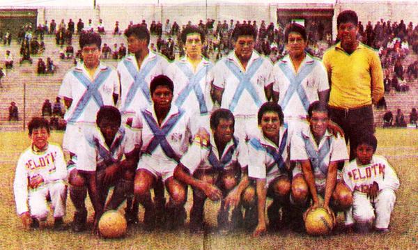 Mariscal Sucre en 1969 cuando tentaba el ascenso en la Segunda División (Cromo: álbum Ídolos 1969, Importadores Peruanos)