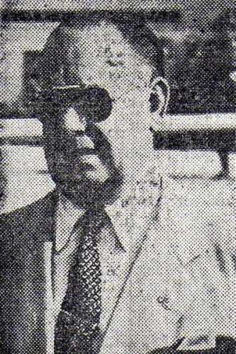 Ángel Fernández Roca fue el DT que impulsó la contratación masiva de argentinos para Sucre en 1951. (Recorte: diario El Comercio)