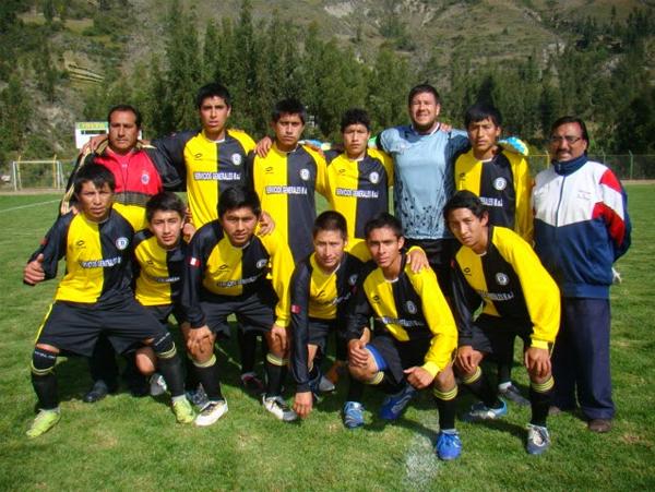 Oncena de Atlético Belén en 2014. el mayor rival en Huaraz de Sport Áncash (Foto: Los Locos del Deporte)