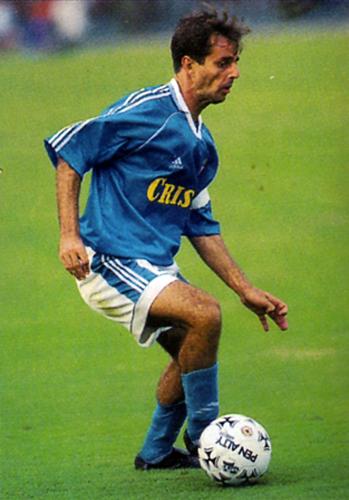 Su gran habilidad con el balón convirtió a Julinho en un jugador diferente para el medio peruano (Recorte: revista Don Balón Perú)