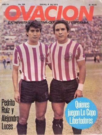 Con los huaralinos, Alejandro Luces alcanzó gran brillo en su carrera al punto de ser campeón nacional (Recorte: revista Ovación)