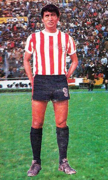 Ídolo entre ídolos, Pedrito Ruiz le dio a Unión Huaral su particular toque de distinción con el balón (Cromo: Editorial Navarrete)