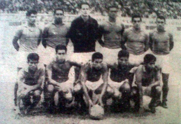 El equipo de Alfonso Ugarte de Chiclín que se presentó ante CNI para definir su suerte en la última fecha (Recorte: diario La Crónica)