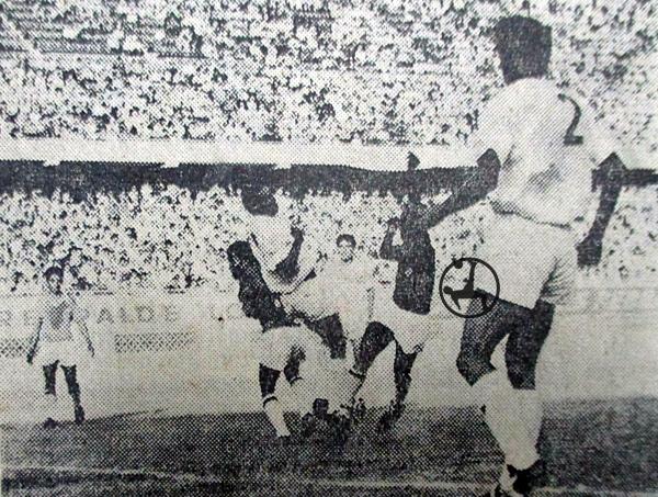 Octavio Espinosa venció 3-1 a CNI. (Recorte: diario La Crónica)