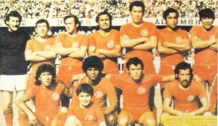 Octubre de 1976: Con esta oncena, liderada por el inolvidable José Luis 'Camote' Vásquez, Bolognesi fue campeón de la Copa Perú y llegó a Primera División (Foto: Boletín Informativo FPF, Nº 5 p. 7)