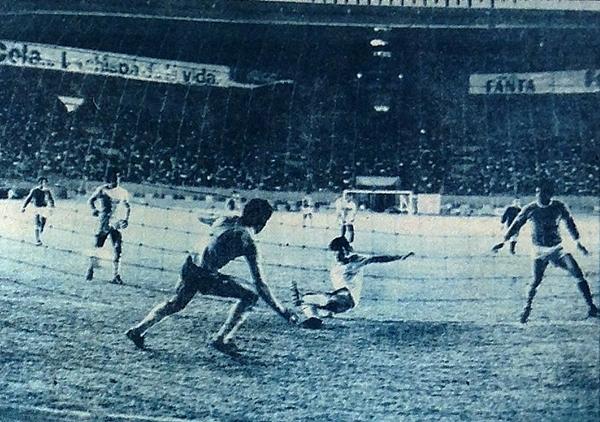 Un empate ante Mariátegui fue suficiente para que La Palma levante el trofeo de la Copa Perú 1978. (Recorte: diario La Crónica)