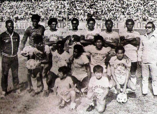 El Mayta Capac de Chincha, animador en la Finalísima de la Copa Perú 1981, fue uno de los equipos que se unió al proyecto de la Segunda División (Recorte: revista Flash Deportivo)