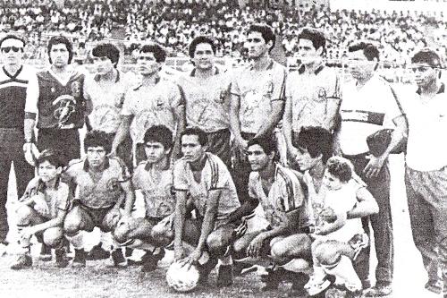Capitán Clavero, un equipo que defendía intereses no precisamente muy deportivos (Foto: diario La Industria de Trujillo)
