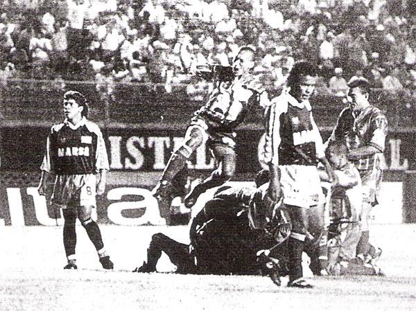 Marsa de Tayabamba y su recordada campaña en la Copa Perú de 1995 que estuvo a punto de elevarlo a la órbita del fútbol peruano (Recorte: diario El Bocón)