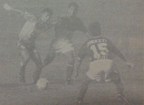 El único duelo entre piuranos y ucayalinos se dio en la Finalísima de 1995. Torino y La Loretana igualaron 1-1. En esa edición, el 'Taladro' sería el campeón (Foto: Revista Estadio)