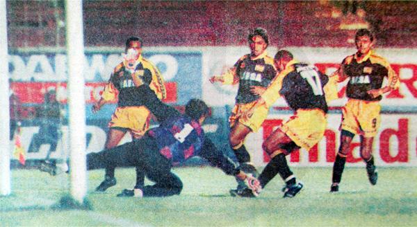 Un nuevo empate, esta vez frente a La Loretana, dejó a Marsa a la espera de otros resultados en la última fecha. (Foto: Suplemento Deporte Total, diario El Comercio)