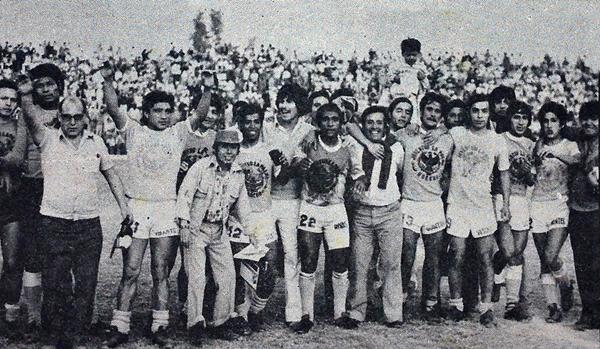 Juventud La Palma llegó a la Finalísima de 1978 con el objetivo de revancha por su eliminación un año antes. (Recorte: revista Ovación)