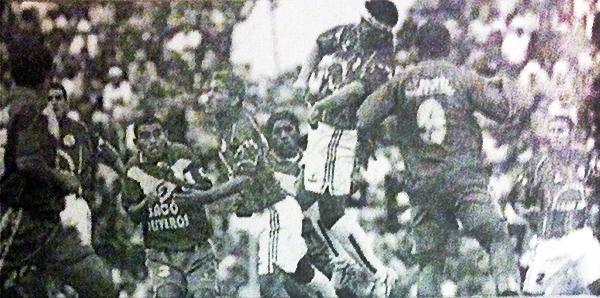 Sport Alfonso Ugarte empató en Huaraz con Sport Áncash en 2004, pero no le alcanzó para ir a la final. (Recorte: semanario Al Toque)
